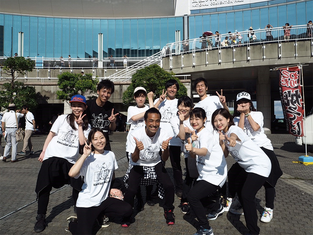 JMA ダンス同好会 Vascular access from EHP